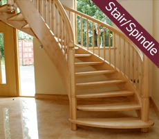 Domestic Stairs and Spindles